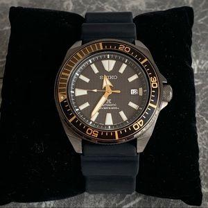 Seiko Men's Black Ion Prospex Automatic Dive Watch